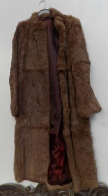 Vintage ladies fur coat