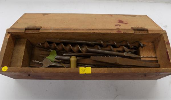 Box of drill bits