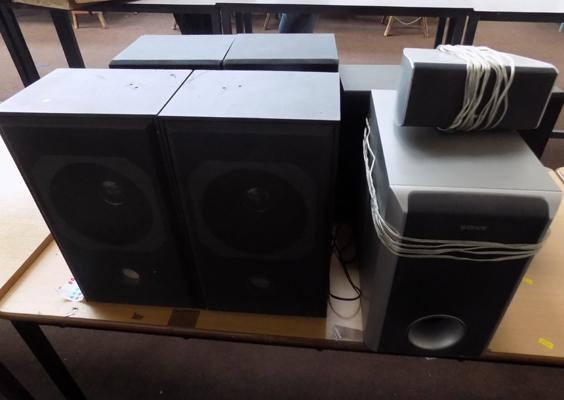 Selection of hi-fi speakers