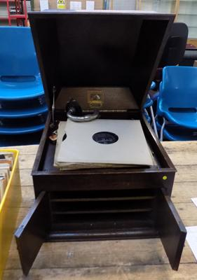 Vintage Dawson gramophone in working order