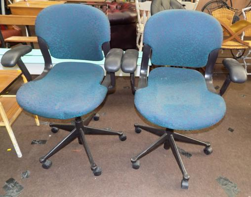 Herman Miller office chairs x 2 (with arms)