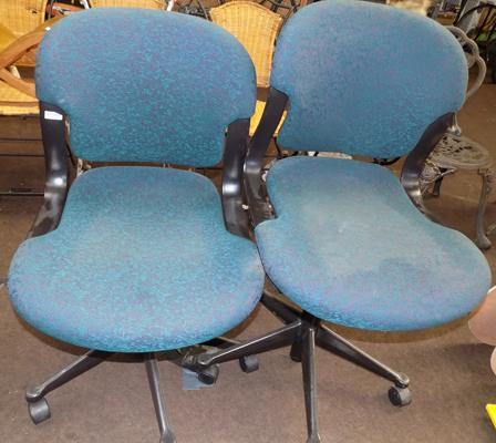 Herman Miller office chairs x 2