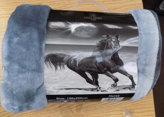 Brand new double fleece blanket. Size 150cm x 200cm