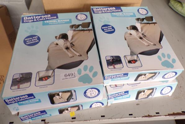 Battersea cats and dogs home new and boxed travel range seat covers