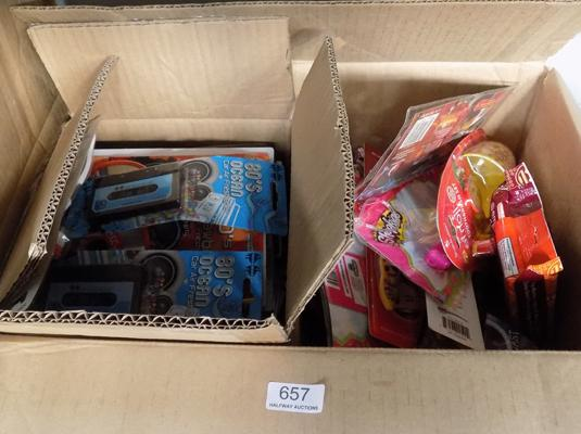 Box of car air freshener and others