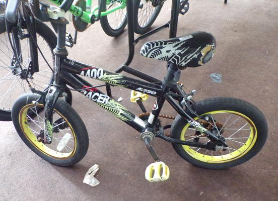 Child's race bike