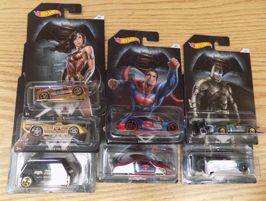 Batman/Superman Hotwheels