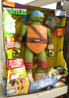 Teenage Mutant Ninja turtles - Leonardo Ninja control figure - boxed