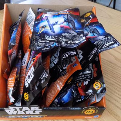 24 Star Wars Micro machines blind bags