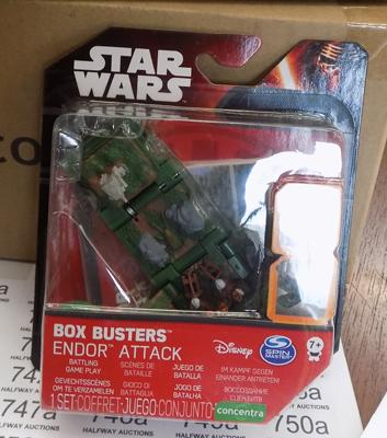 12 Star Wars Box Busters