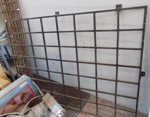 Large window grill size X