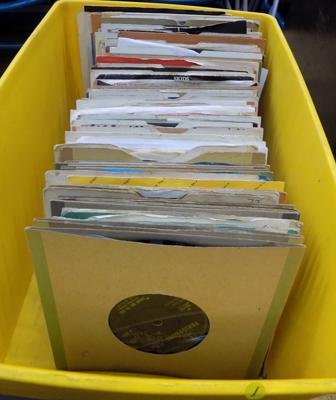 Selection of singles - mostly 60's incl; Beatles and Rolling Stones