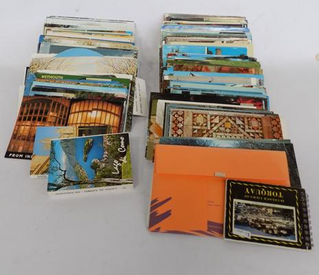 Box of mixed postcards
