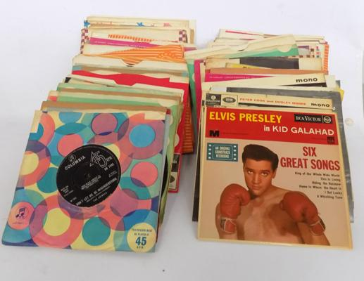 "Selection of mainly 1960's 7"" records"