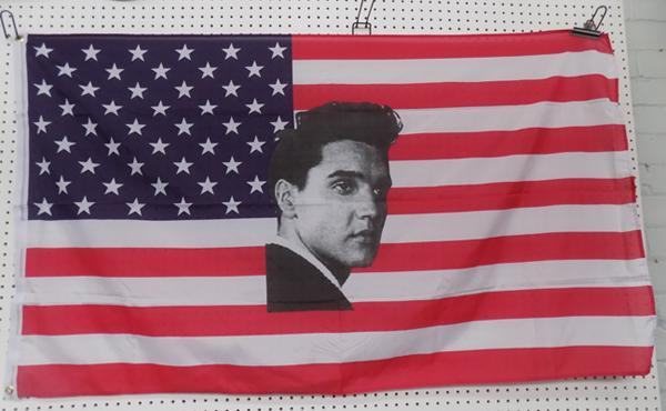 Elvis flag - 5 feet by 3 feet