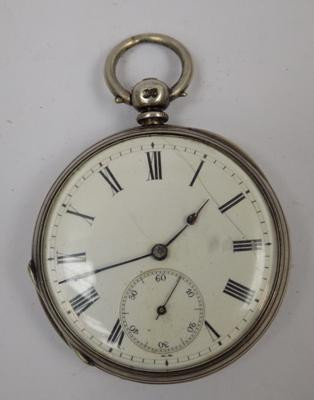 Antique hallmarked pocket watch key wound