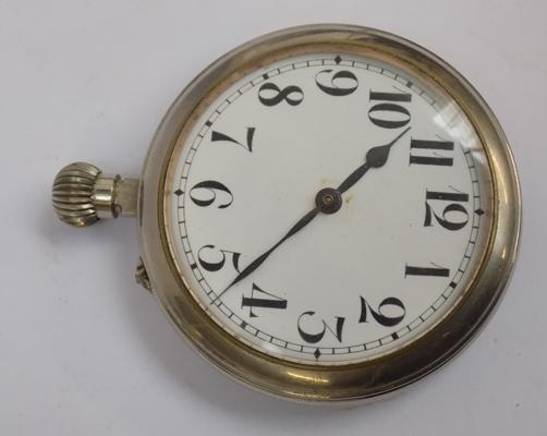 Large vintage pocket watch 2.5 inches across
