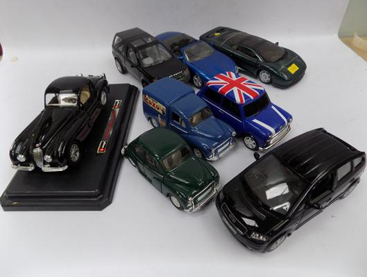 8x Precision diecast cars as new-various scales