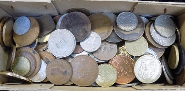 Small box of coins