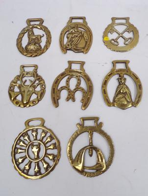 Selection of horse brasses