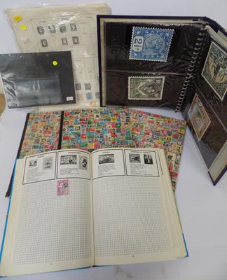 Selection of stamps & albums (x6)