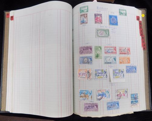 Album of Commonwealth stamps etc.
