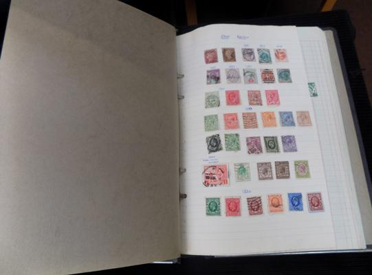 Album of GB stamps from Queen Victoria