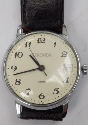 Vintage Sekonda wrist watch-17 jewel USSR w/o