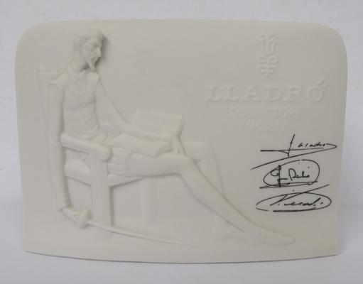 Lladro collectors plaque-no damage