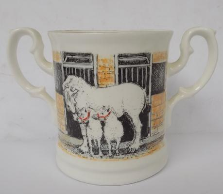 Samuel Smith Limited Edition 459/1000 loving cup by Jenny Hinchcliffe 1991 no damage