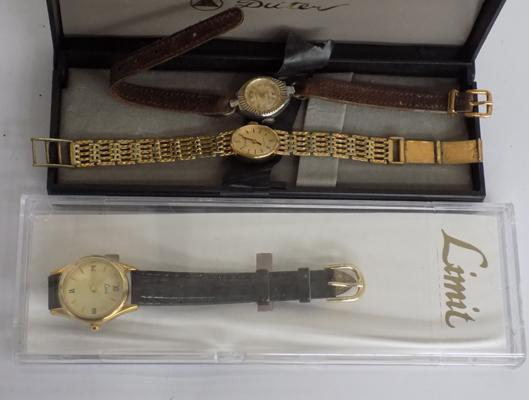 3x Vintage watches
