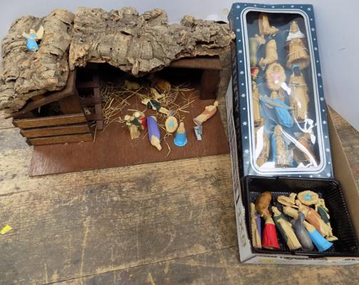 Christmas items-nativity scene