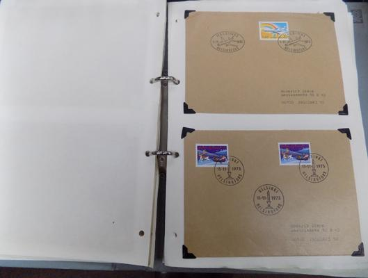 1970's First day covers (Finish & English)