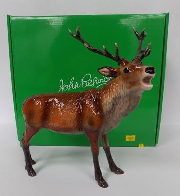 John Beswick red stag-boxed