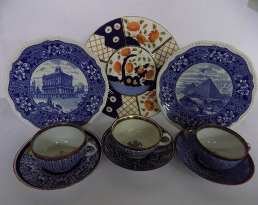 Collection of Royal Worcester, Barr & Wedgwood
