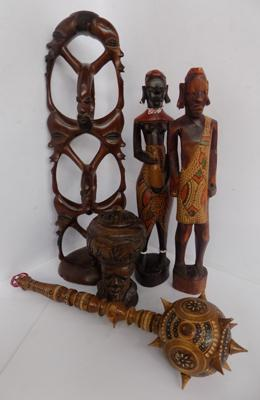 Selection of tribal figures