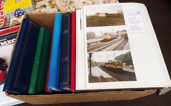 Large selection of railway photographs