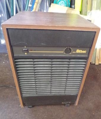 Vintage Ebac dehumidifier in working order