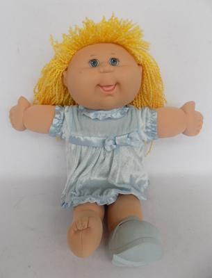 Vintage Cabbage Patch doll - signed on back