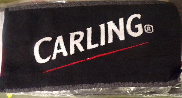 18x New Carling towels