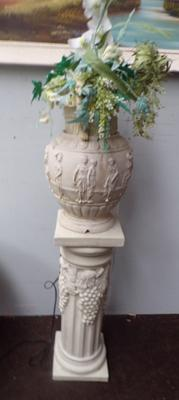 Novelty jardiniere and stand