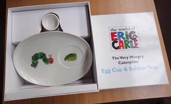 New boxed Hungry Caterpillar breakfast set