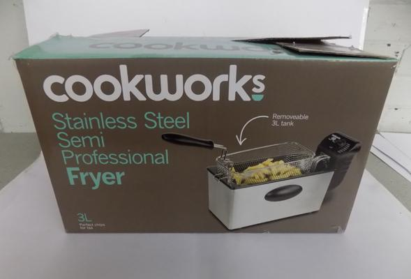 Deep fat fryer-new
