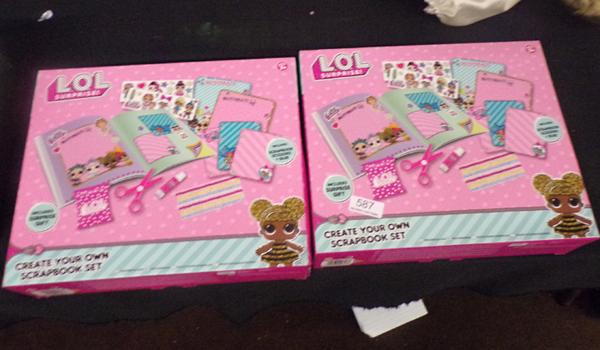 2x Lol surprise scrapbook kits