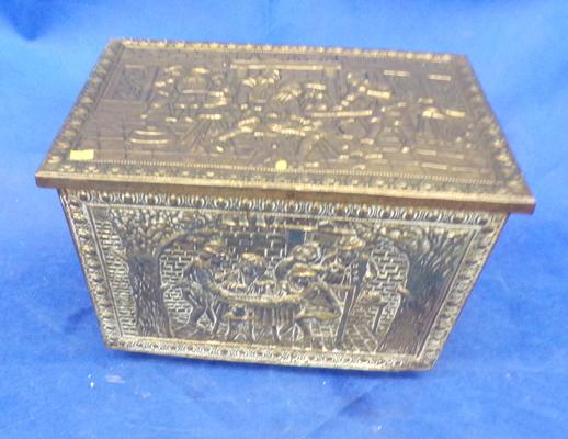 Brass storage box
