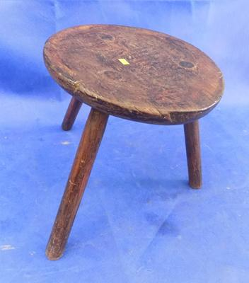 Vintage milking stool