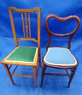 2 Edwardian chairs