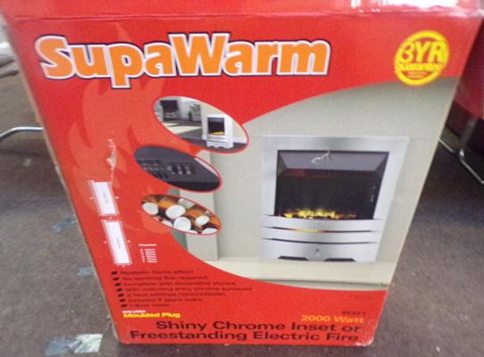 Superwarm electric heater - complete