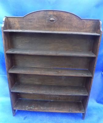 Vintage 5 shelf bookcase-approx 47 inches high