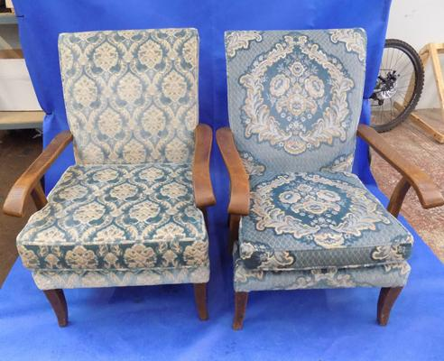2x Parker Knoll fireside chairs
